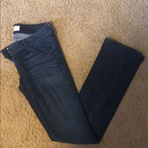 Size 27 Hudson jeans. Style: Beth baby boot.